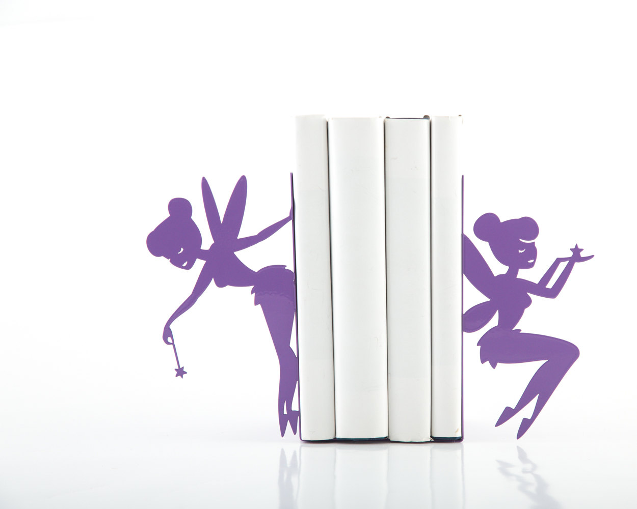 Nuwzz Bookends  Fairy laser cut from metal strong enough