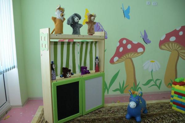 ГУВД Ташкента отремонтировало детский сад в Джизакской области