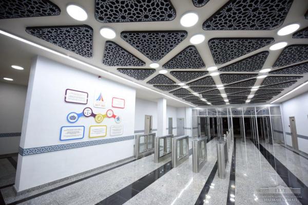 Завершено строительство первых двух станций надземного метро Ташкента (фото)