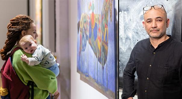 Выставка «Горизонт иллюзий» Бобура Исмаилова успешно открылась в Иркутске