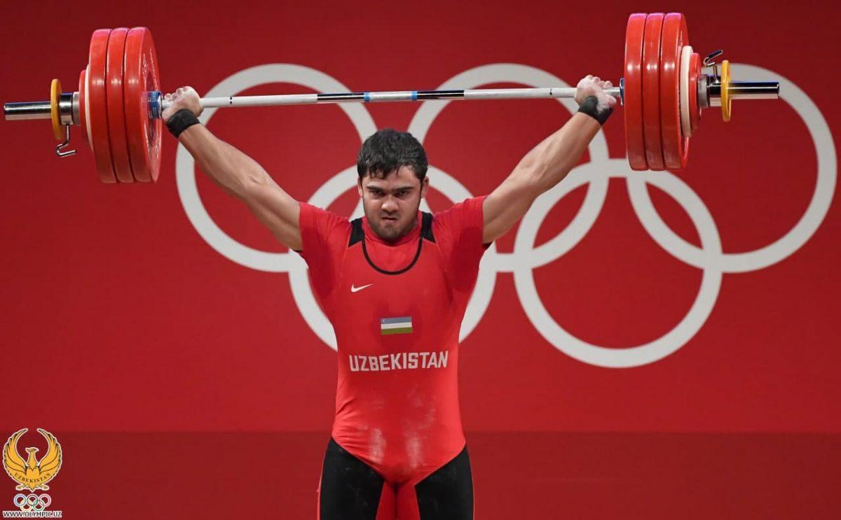 Тяжелоатлет Акбар Джураев установил рекорд и завоевал золото Олимпиады - Nuz.uz