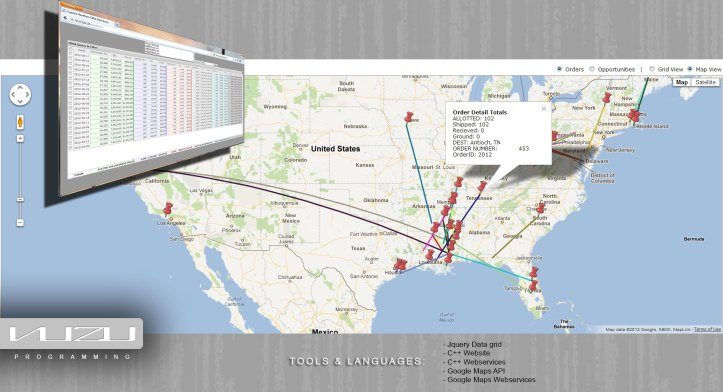 Google maps web services programming Mississippi