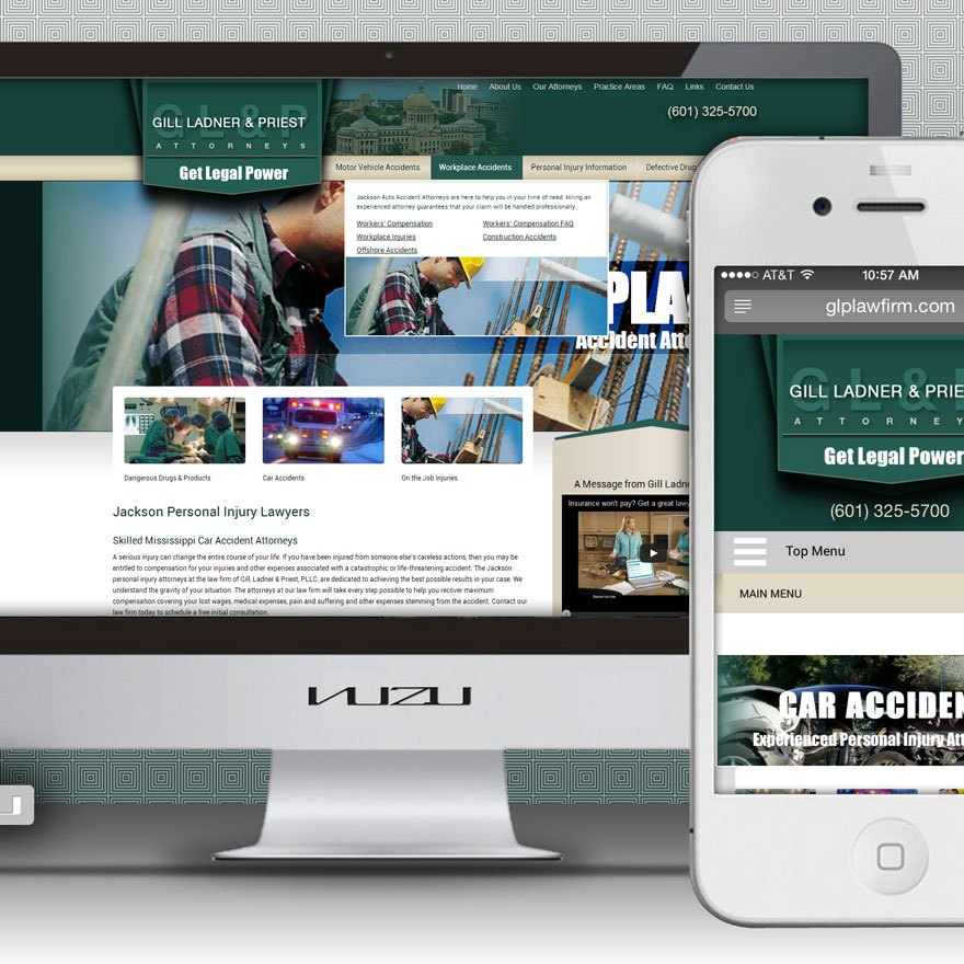 Attorney Website Designer