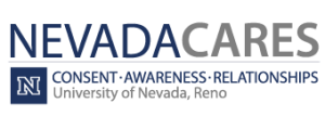 NevadaCares Logo - Consent - Awareness - Relationships