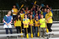 Pilo Polo group photo with the 3rd and 4th grade and student leadership