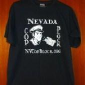 Nevada Cop Block T-shirt