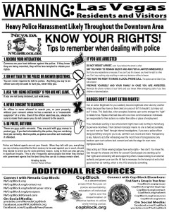 Know Your Rights and how to protect them when dealing with police.