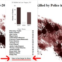 In Nevada, the Most Distinctive Cause of Death is the Police