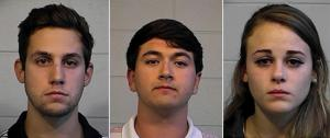 University of Alabama Students Arrested Video