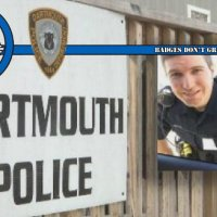 """Exemplary Officer"" Suspended by Dartmouth Police Department for Repeatedly Abusing Girlfriend"