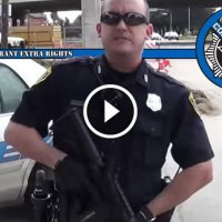 "Houston Cop Claims to be ""Three Percenter"" While Illegally Detaining Man Open Carrying Rifle"