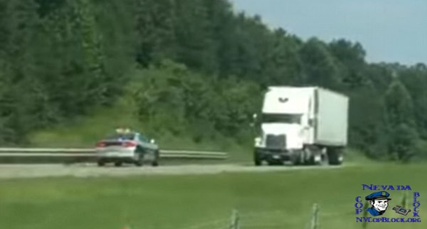 North Carolina State Trooper Reckless Driving