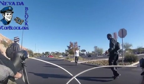 Las Vegas Police Detain Black Men Walking While Open Carrying Sword