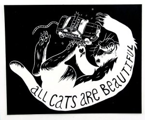 ACAB All Cats Are Beautiful All Cops Are Bastards