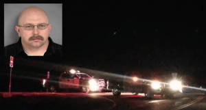Las Vegas police officer Bret Theil was arrested during SWAT standoff on charges of sexually assaulting a child