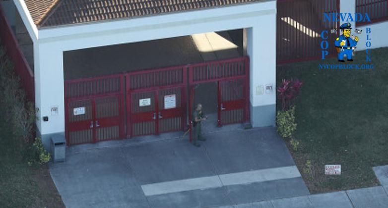 School resource officer Scot Peterson stood outside while Nikolas Cruz killed 17 students