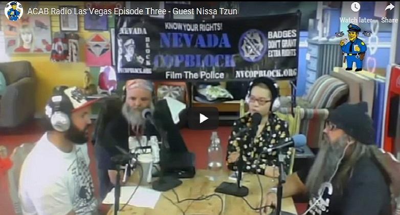 ACAB Radio Las Vegas Podcast Episode #3: Guest Nissa Tzun