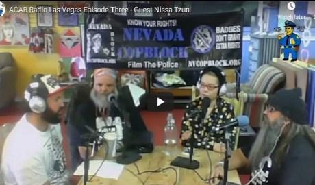 ACAB Radio Episode Three Nissa Tzun