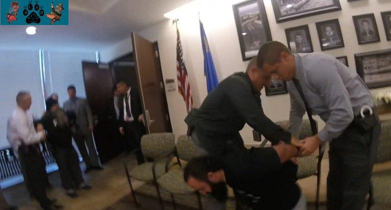 LVMPD Press Conference Independent Media Arrests