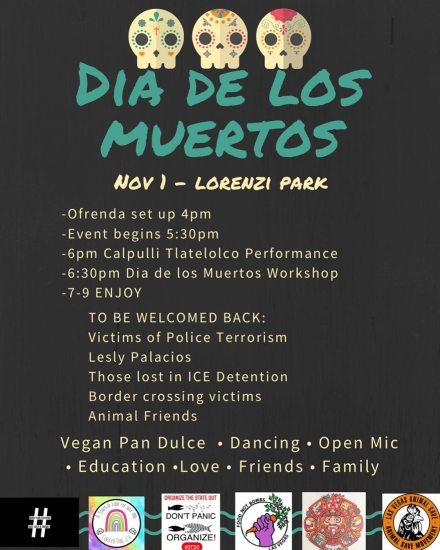Dia De Los Muertos 2020 Schedule