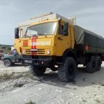 Поисковые работы в районе Мысхакского шоссе в Новороссийске
