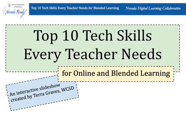 Top 10 Tech Skills Every Teacher Needs for Online and Blended Learning