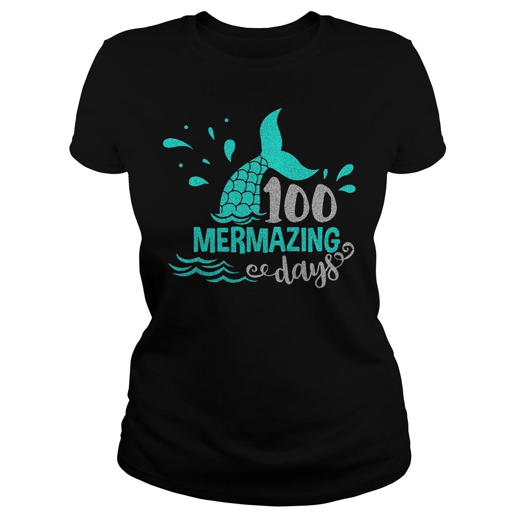 Download 100 Mermazing Days Svg Shirt, Hoodie, Longsleeve tee, and ...