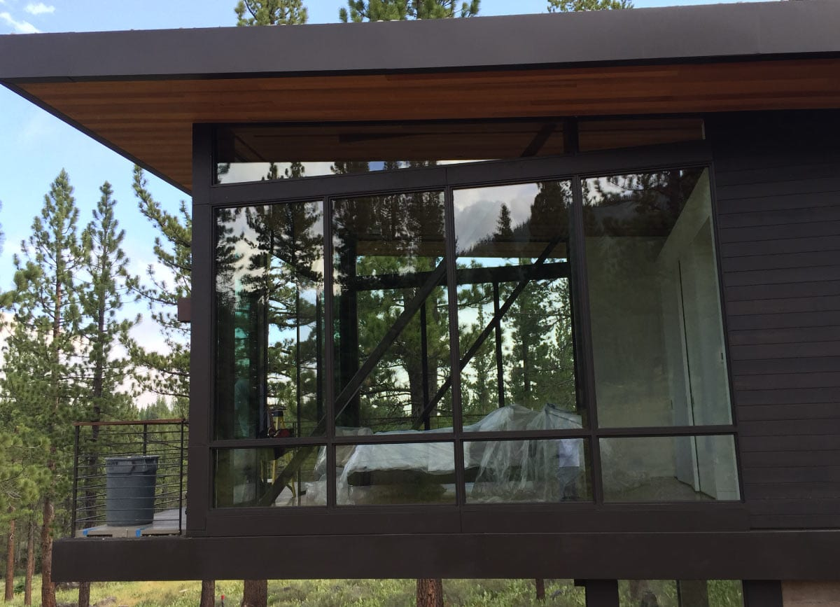 Residential Curtain Wall Windows