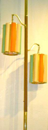 Vintage Tension Pole Lamp - Sexy Dance