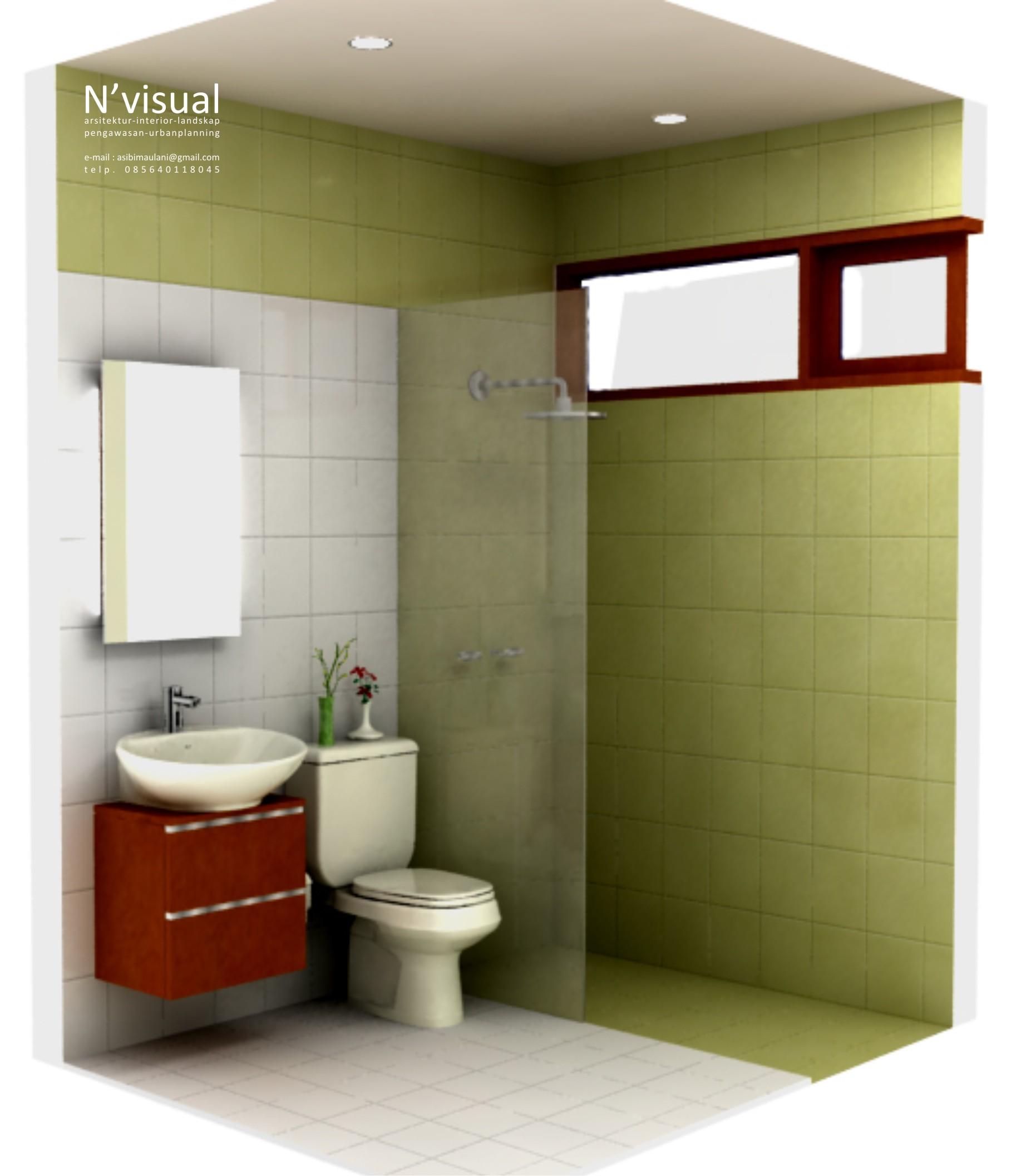 kamar mandi minimalis  Sketchs Blog