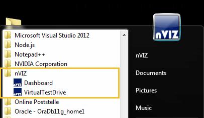 nVIZ Virtual Test Drive Server Version 2019 4 1 – nVIZ GmbH