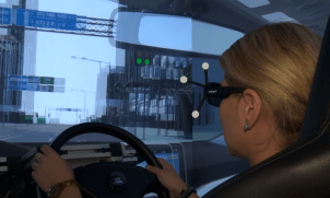Driving in Virtual Reality