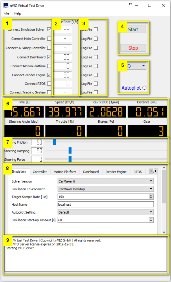Marked VTD GUI Screenshot