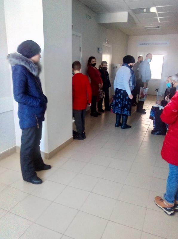 Очереди в медногорской поликлинике