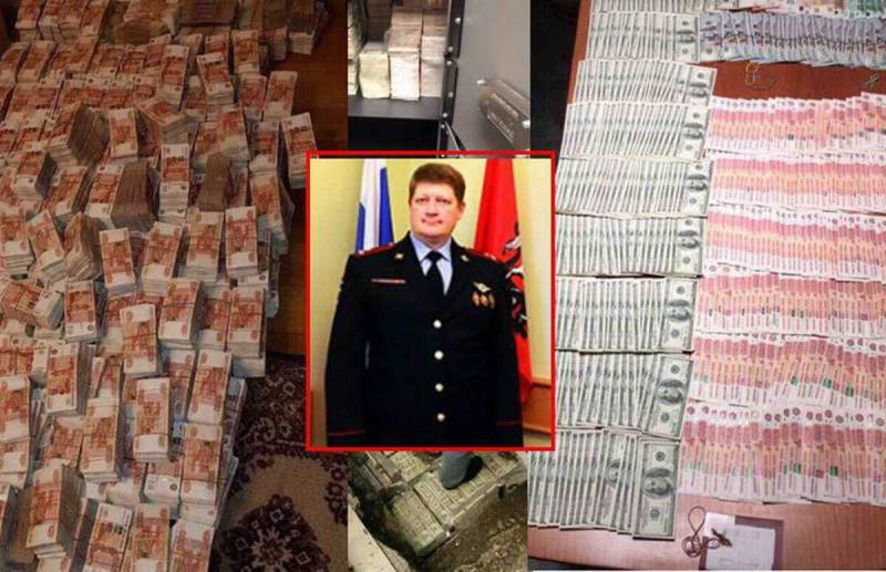 У руководителя  МВД Егора Панова было изъято 2 тонны денег