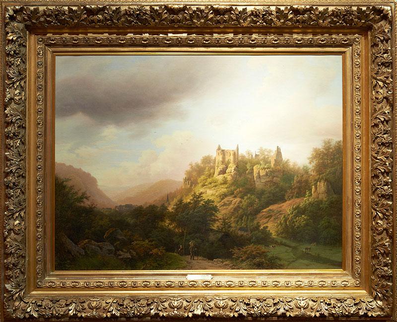 Schilderij B. C. Koekkoek
