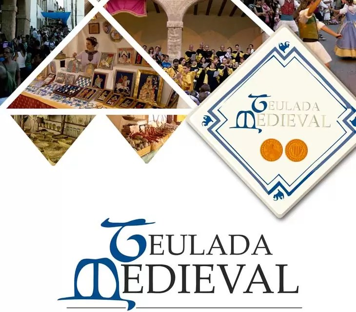 Middeleeuwse markt Teulada 4-7 augustus