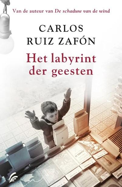 Nieuw in de bieb: Het labyrinth der geesten – Carlos Ruiz Zafón