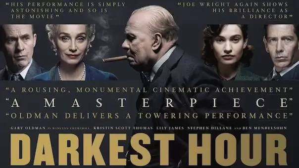 NVOC FILMTIP: Darkest Hour