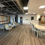 May 30th – Flooring and Opening the Divider!