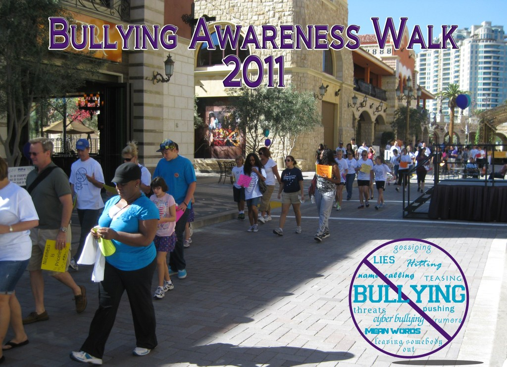 A flyer for the 2011 Bullying Awareness Walk