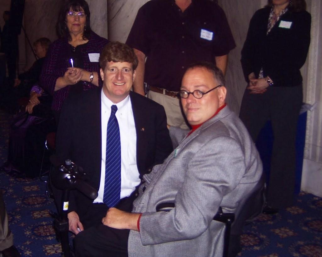 SamLieberman at a PEP event