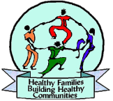 Healthy Families Building Healthy Communities Logo