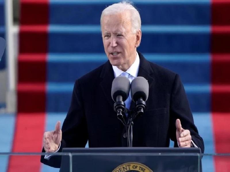 Biden addressed the UNGA