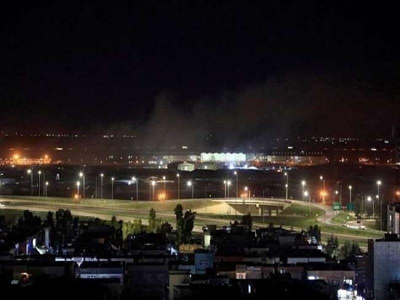 Erbil Airport Rocket attack
