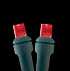 5mm 100L Full Wave LED Red Holiday Lights