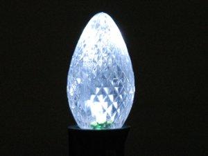 C7 LED Retro Fit Bulb Pure White 25PK