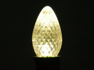 C7 LED Retro Fit Bulb Warm White 25PK