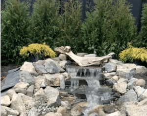 water feature hardscape