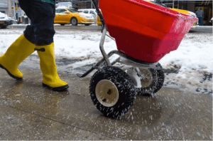 Salting and Deicing